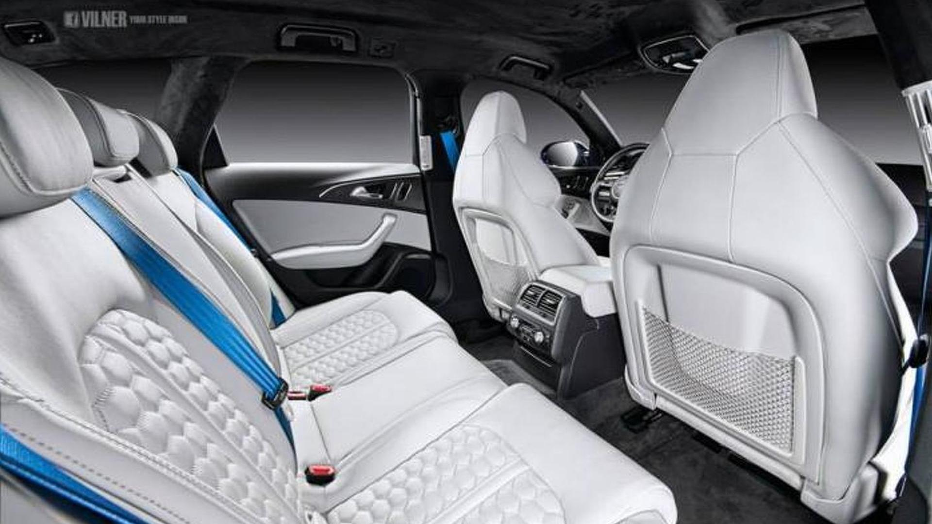 Тюнинг салона Audi RS6 Avant от Vilner