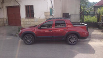 Dacia Duster Double Cab pickup spotted again, is not a production model