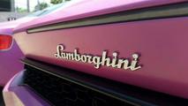 Lamborghini Huracan for Breast Cancer Awareness Month