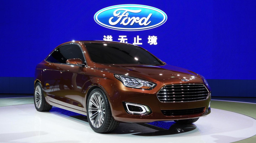 Ford Escort production model confirmed for Beijing Motor Show launch this month