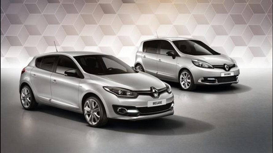 Renault Limited, la gamma full optional con dettagli particolari