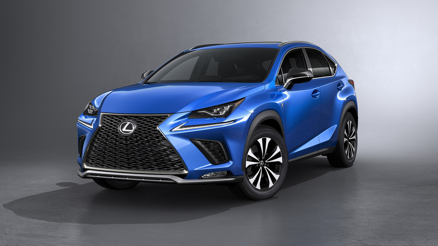 2018 Lexus NX Reveals New Look, Promises Better Handling