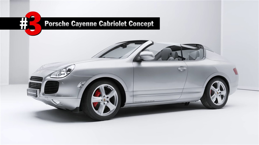 Porsche once considered making a Cayenne Cabriolet