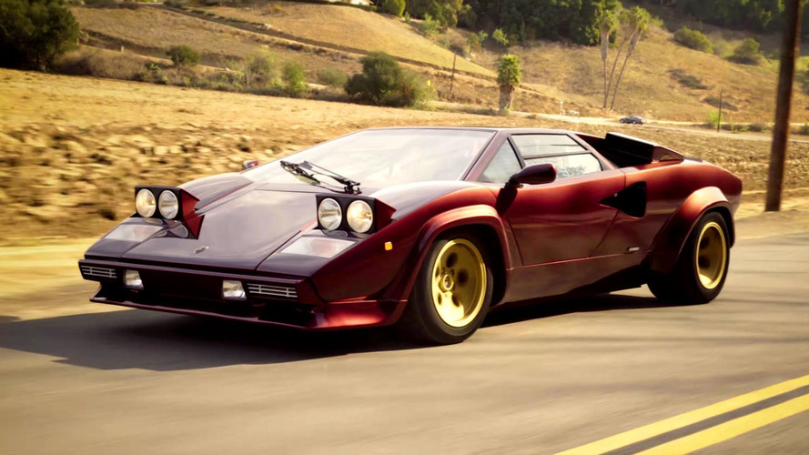 Valentino Balboni Reunited With The Boss's Lamborghini Countach