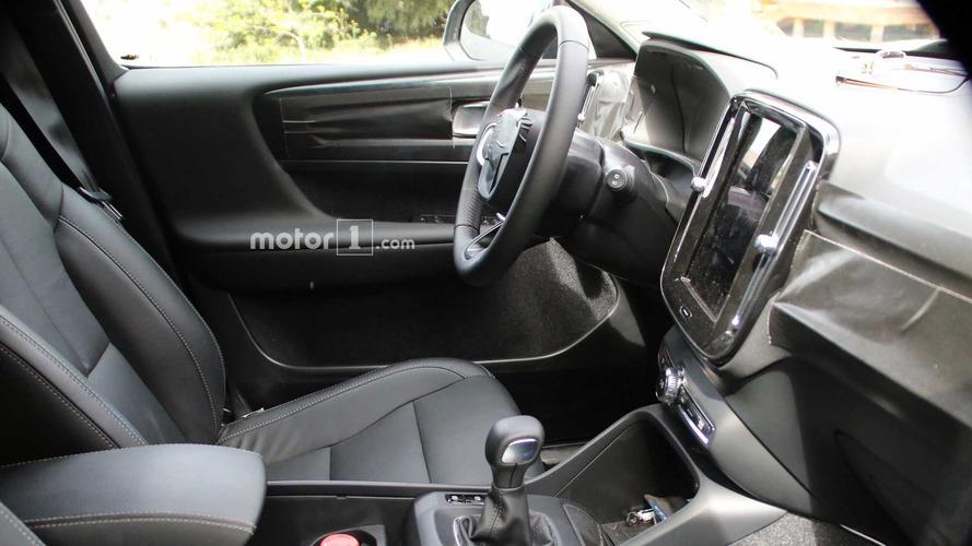 Volvo XC40 2017 nuevas fotos espía