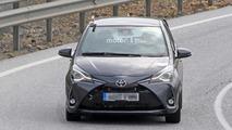 Five-door Toyota Yaris GRMN spy photo