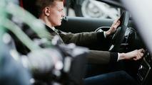 Mick Schumacher apprend à conduire au volant de la Mercedes-AMG A45