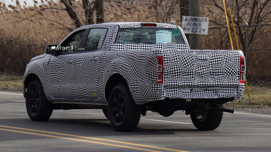 Flagra - Ford Ranger nos Estados Unidos