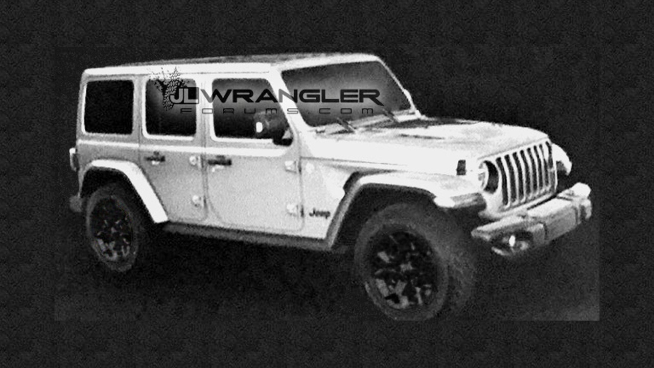 2018 jeep wrangler unlimited rubicon leaked images renders photos. Black Bedroom Furniture Sets. Home Design Ideas
