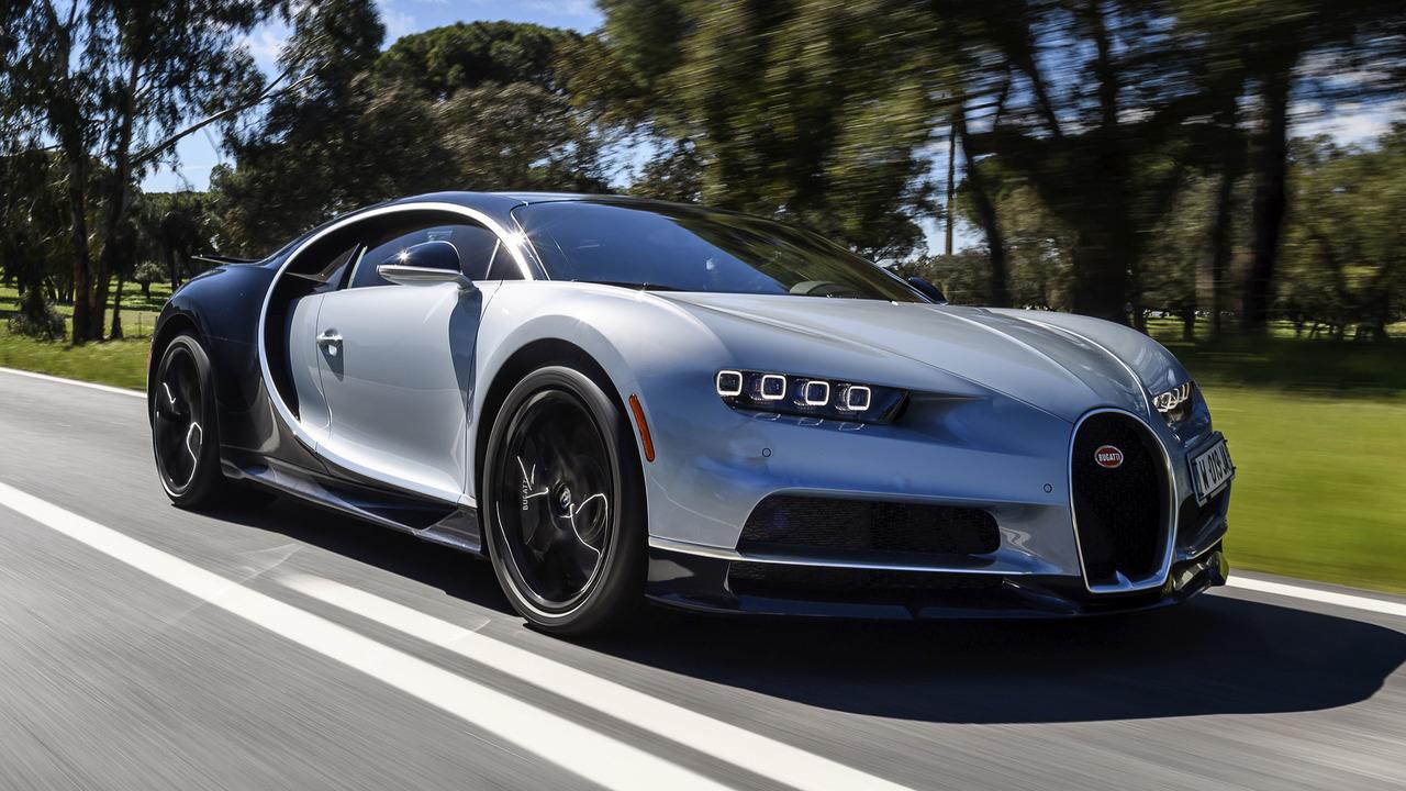 Bugatti engine 2018