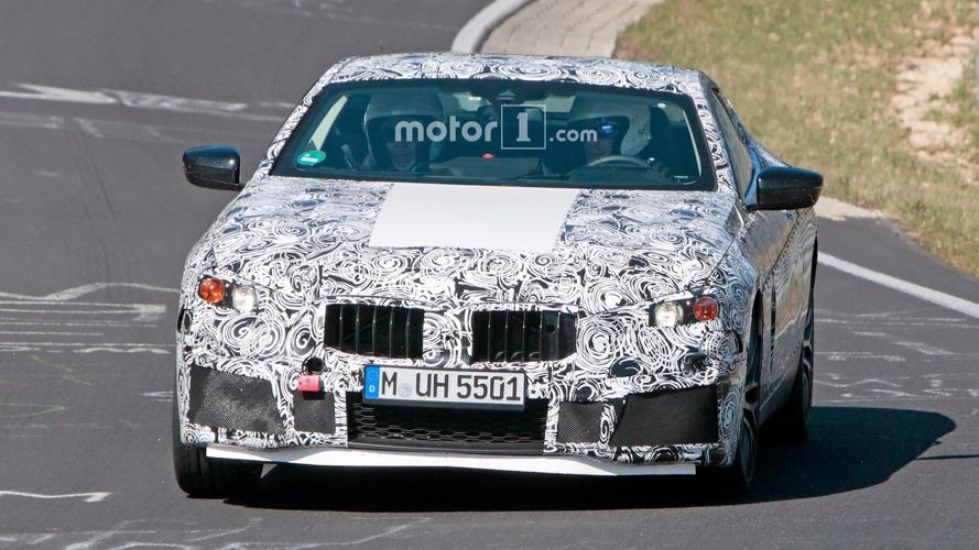 BMW M8 Nurburgring Spy Photos