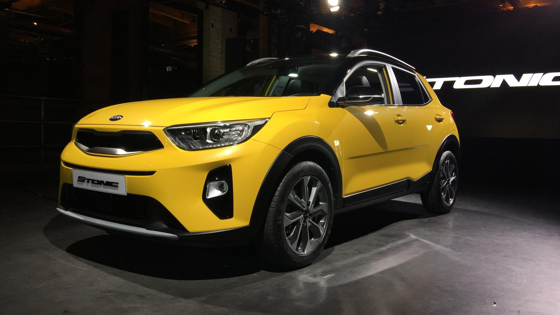 2018 kia stonic subcompact crossover debuts in the metal for Kia motor company usa