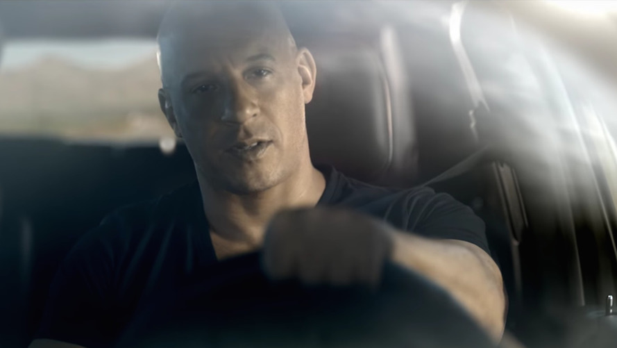 Vin Diesel Flexes His Muscle In New Dodge SRT Commercials