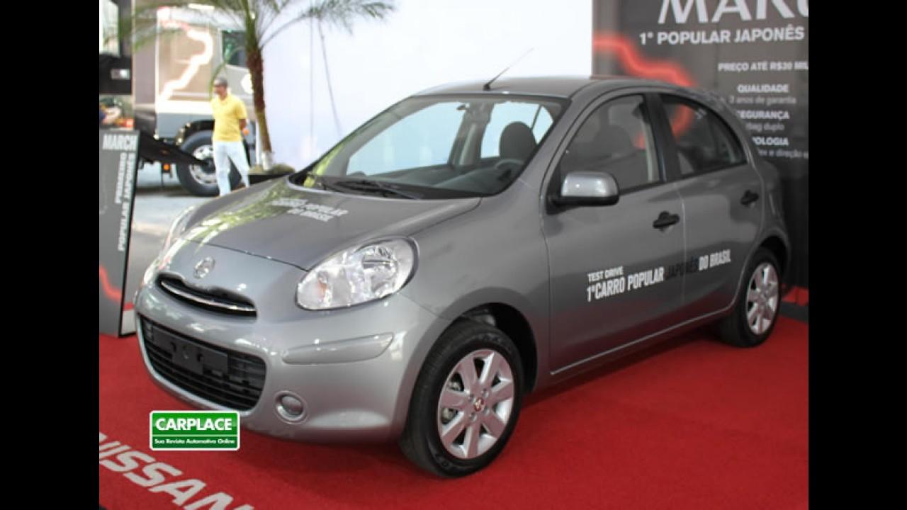Oficial: Nissan divulga itens de série do March 1.0 - Lojas já fazem pré-venda por R$ 29 mil