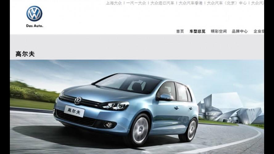 Volkswagen construirá nova fábrica na China