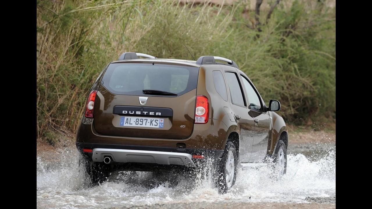 Dacia Duster ganha versão bicombustível (flex) na Europa