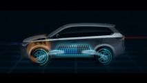 Mitsubishi apresentará versão híbrida do crossover Outlander no Salão de Paris