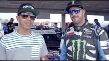 Vídeo: Ken Block Vs. Lewis Hamilton em duelo promovido pelo Top Gear