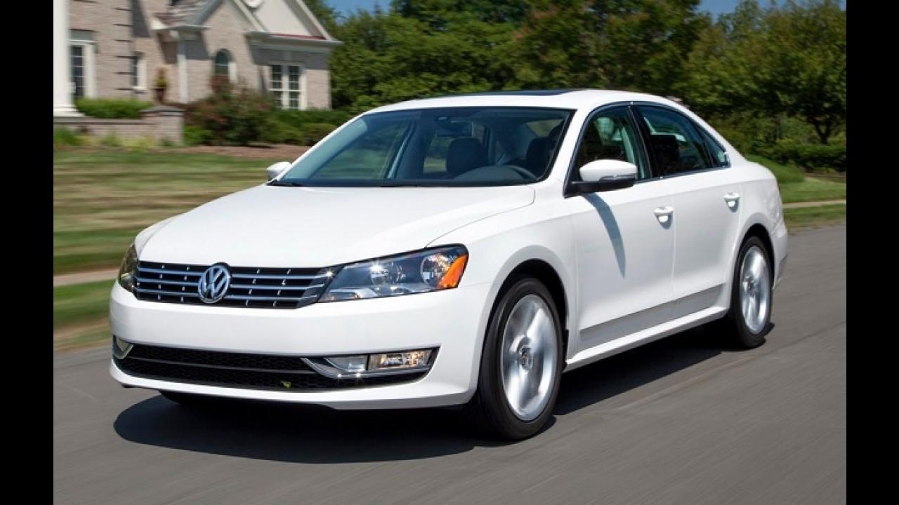 Volkswagen faz recall de Jetta e Passat por problema nos bancos