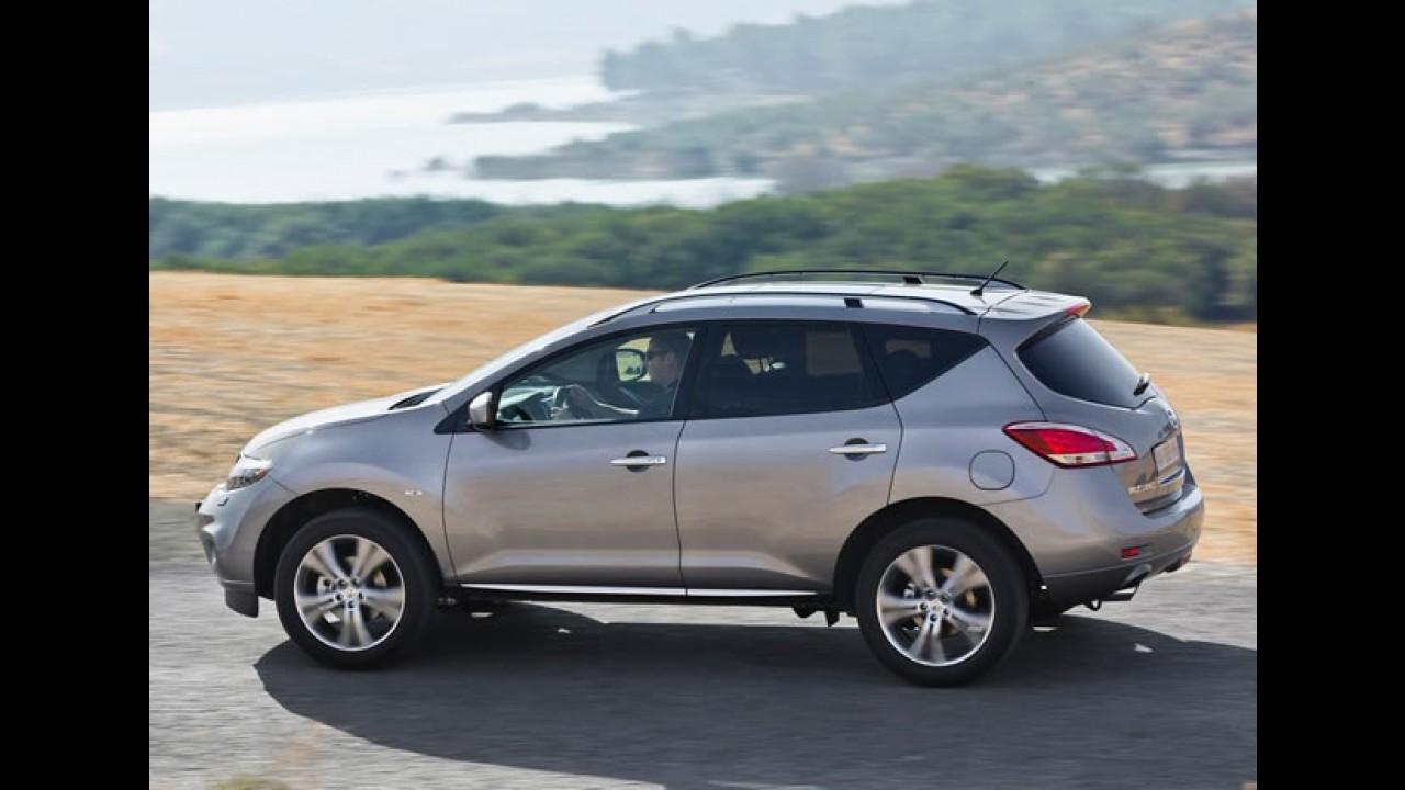 Nissan Murano 2012 é lançado no Uruguai