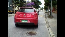 Flagra: Alfa Romeo Giullieta e MiTo sem disfarces no Brasil
