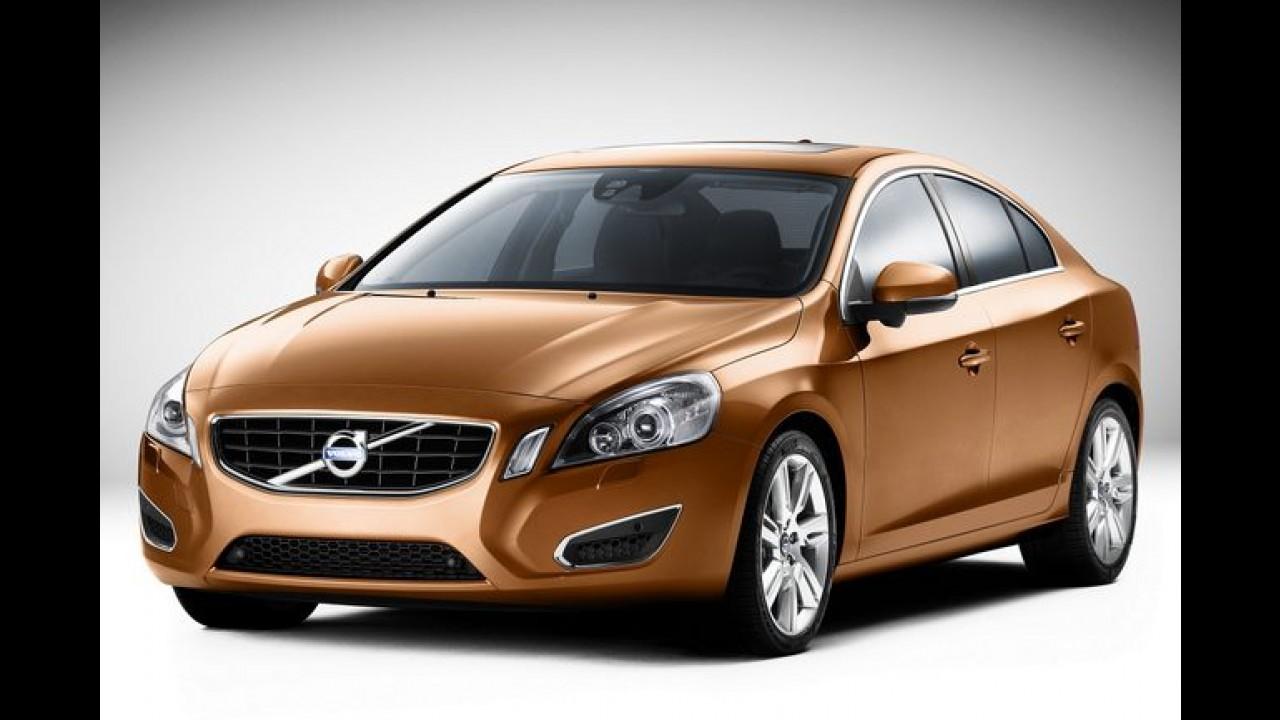 Mais espaço: Volvo planeja lançar versão alongada do sedã S60 na China
