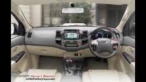 Depois da Hilux, Toyota SW4 2012 aparece por completo em site na Tailândia