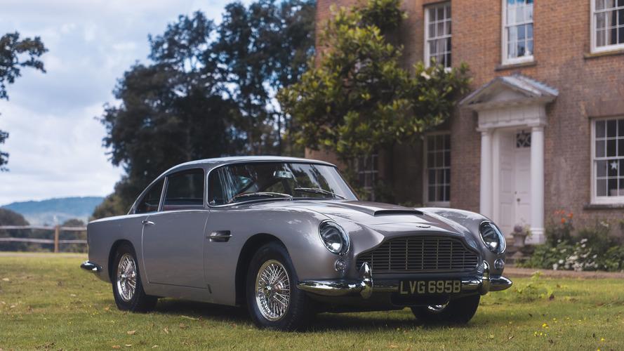 Une Aston Martin DB5 vendue aux enchères avec Apple pay!
