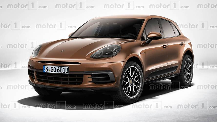 2019 Porsche Macan Rendered With Subtle Facelift