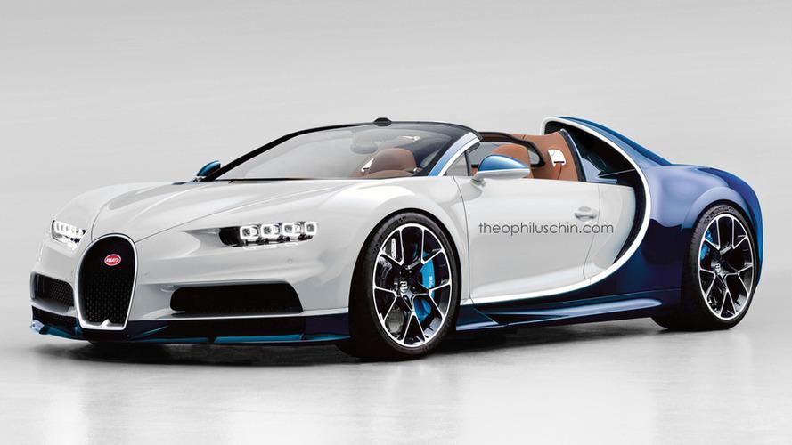 Bugatti Chiron Grand Sport imagined