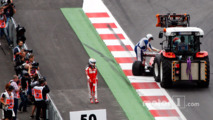 Sebastian Vettel, Ferrari SF16-H retired from the race