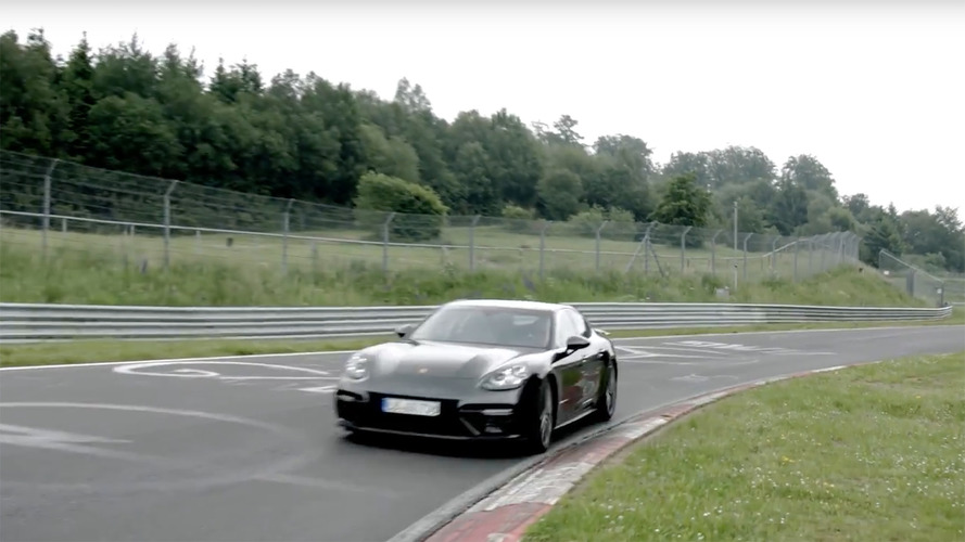 2017 Porsche Panamera is the fastest luxury sedan to lap the Nurburgring