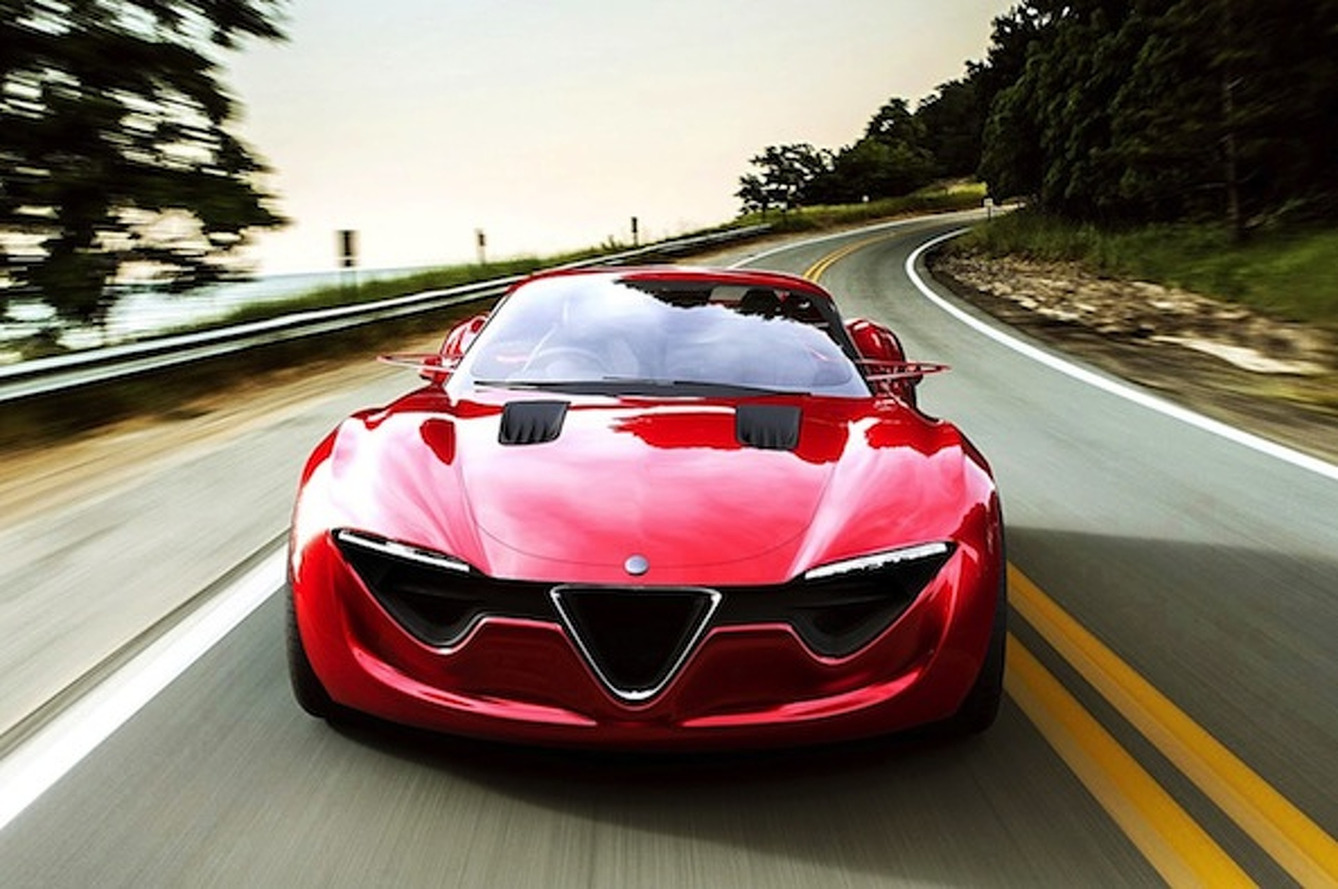 Alfa Romeo 6C Concept: A Ford Mustang in an Italian Suit