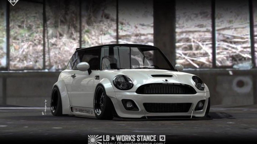 Liberty Walk releases tuning package for the previous MINI