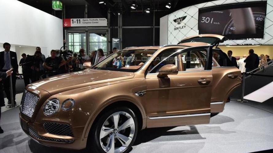 Queen Elizabeth II getting the first Bentley Bentayga