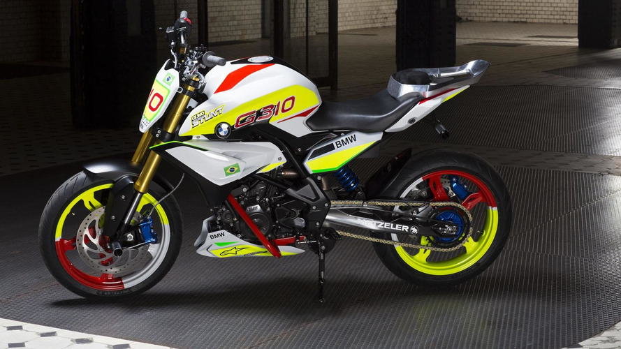 BMW Concept Stunt G 310 unveiled with a one-cylinder engine