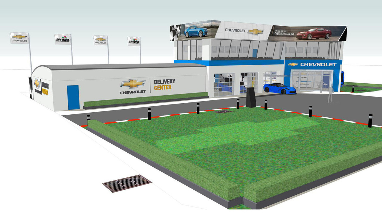 Chevrolet delivery center at Daytona International Speedway