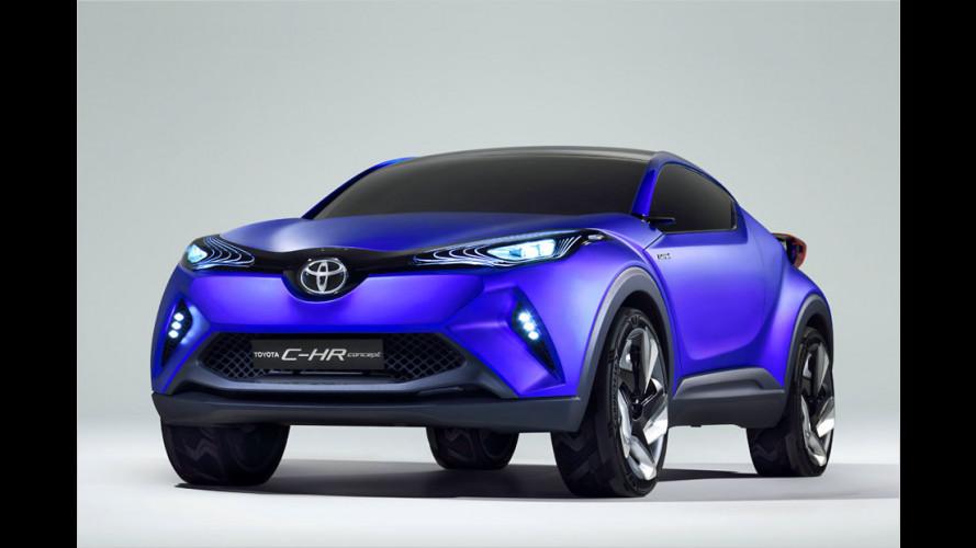 So könnte Toyotas Kompakt-Crossover aussehen