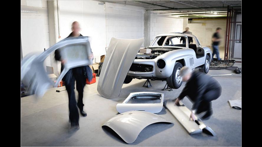 Mercedes zerstört 300 SL