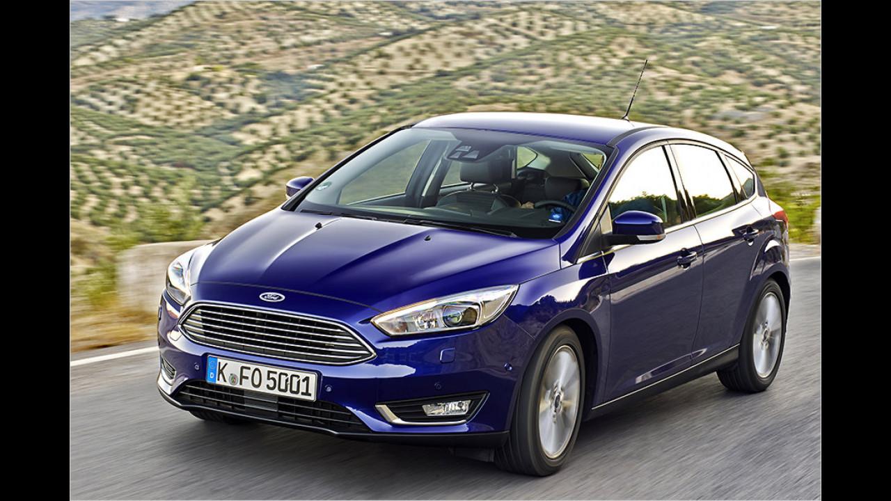 Platz 5: Ford Focus 1.5 TDCi Econetic 77 kW (ab 04/2015)