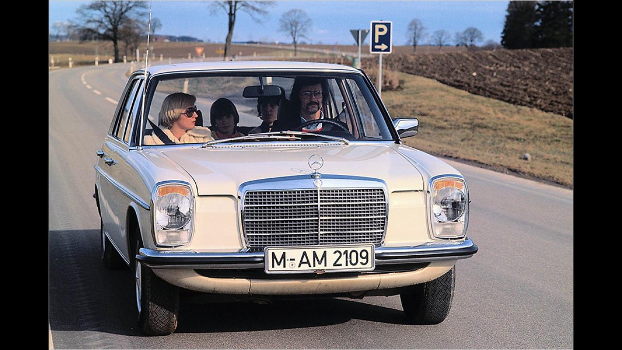 Platz 6: Mercedes W114/115 ,Strich-Acht