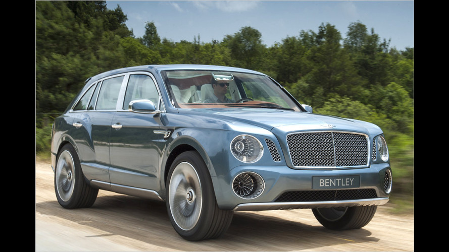 Starkes Luxus-SUV von Bentley kommt