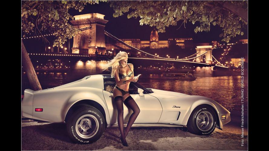 Zwölf Mal Leonie: Der Miss Tuning Kalender 2014 ist da