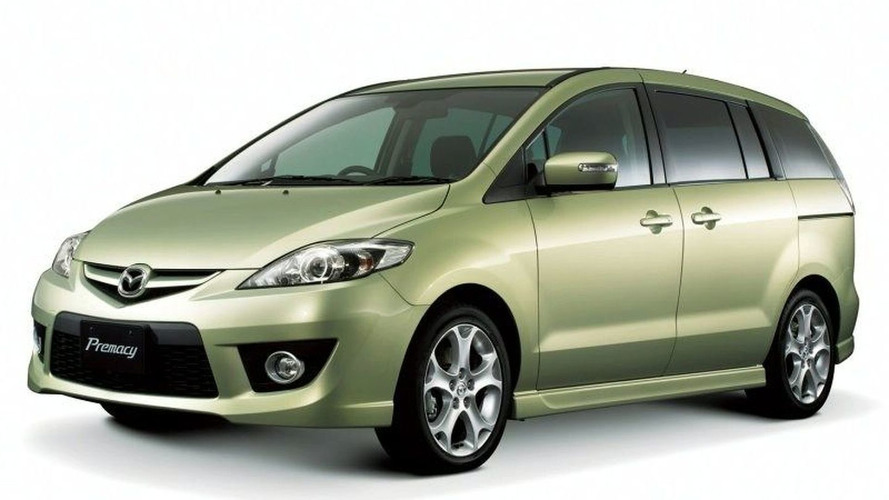 Mazda Premacy Facelift Launched (JA)