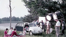 1957: Fiat 500 photoshoot