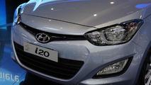 2013 Hyundai i20 live in Geneva 08.3.2012