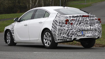 2013 Opel Insignia facelift spy photo