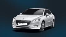 Peugeot 508 Hybrid4 sedan 25.06.2012