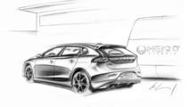 Heico Sportiv Volvo V40 design sketch, 1000, 30.04.2012