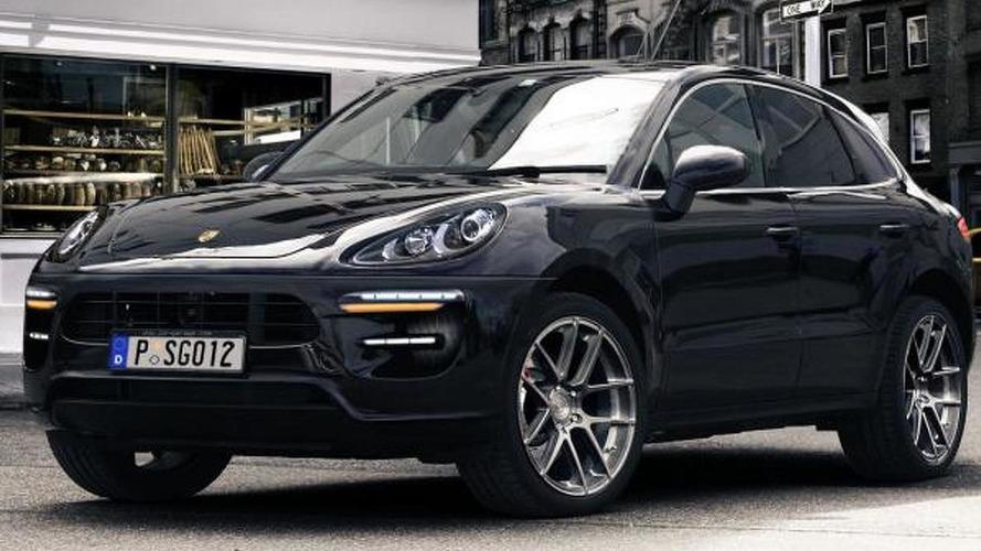 2014 Porsche Macan gets rendered